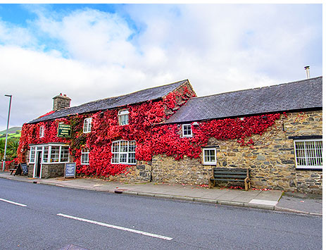 Penrhos Arms Hotel situated in Cemmaes, near Machynlleth